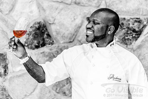 Chef Victor Bongo - Ambrosia Restaurant, Naramata BC